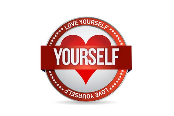 IMAGE - Love yourself badge