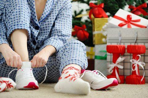 IMAGE - Christmas trainers