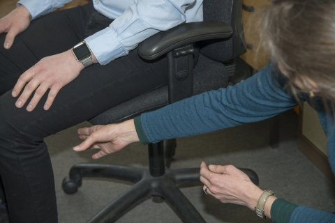 IMAGE - Ergonomic assessment @ Shefford Osteopathic Clinic