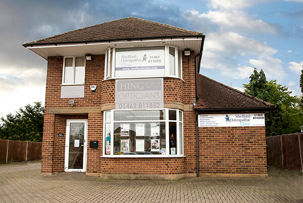 IMAGE - Shefford Osteopathic Clinic building