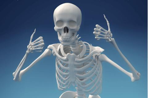 IMAGE - thumbs up skeleton