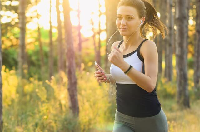 IMAGE: Woman jogging