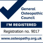 Im Registered withteh General Osteopathic Council - no 9017