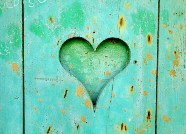 IMAGE: Green Heart for National Osteopathy Healthcare Week