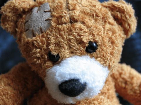 IMAGE: Injured Teddy Bear