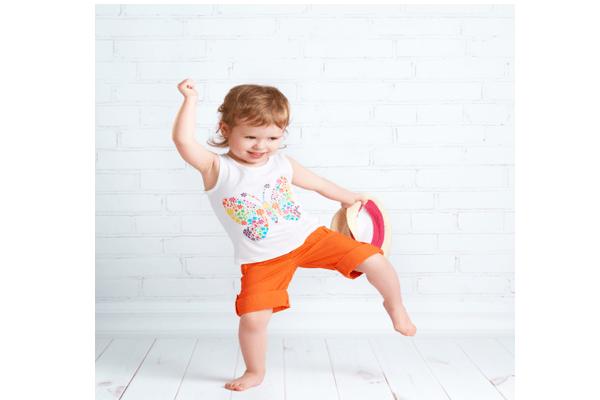 Image: dancing child
