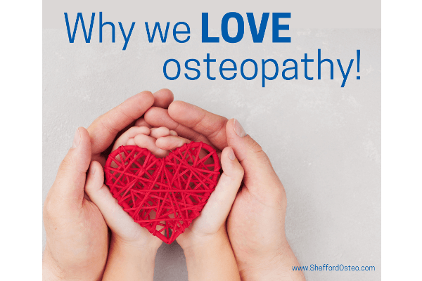 we love osteopathy!