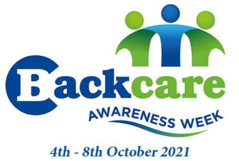 Logo for Back Care Awareness Week 2021